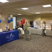 Many residents came out to the Open House to learn more about the therapy services offered.  Visitors could register to win the drawing for a gift basket.