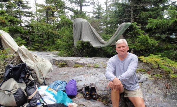 Steve Hiking 3