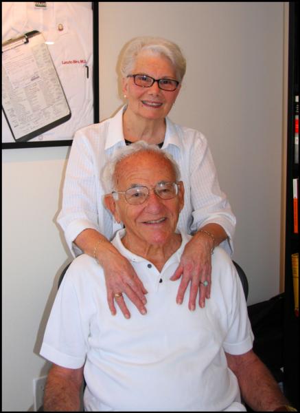 Dolores and Laszlo Biro